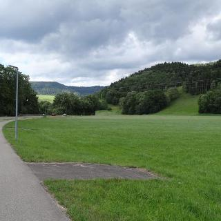 Radweg vor Stegen
