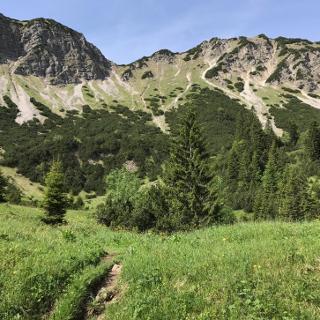 Aufstieg zur Notkarspitze
