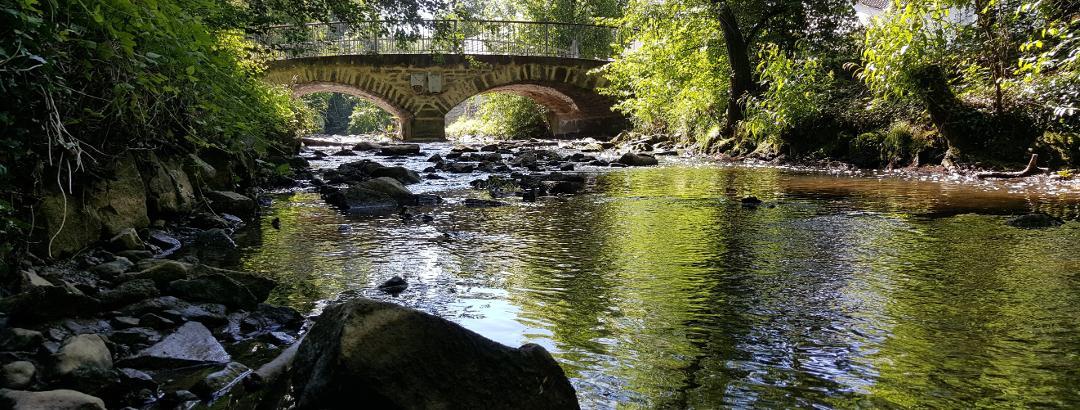Historische Bachüberquerung über die Glems