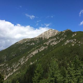 Aufstieg von Reith auf die Nördlinger Hütte