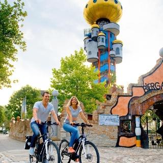 Radeln auf der Turm-Tour rund um Abensberg im Hopfenland Hallertau