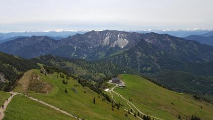 Aussicht von der Rotwand in Richtung Alpenhauptkamm