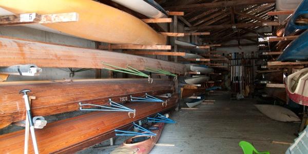 Béke II csónakház