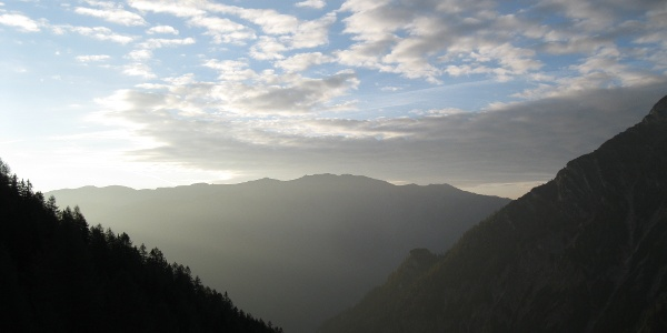 Blick zum Warscheneck (06.10.2014)