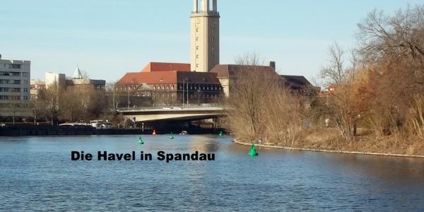 Die Havel in Spandau