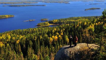 Rafting im Ruunaa-Fluss in Finnland