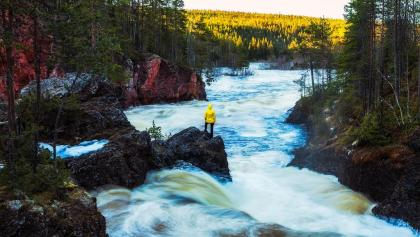 Finland - Oulanka National Park - with Laura by Michael Matti