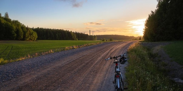 Biking in Turku