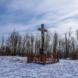 A Fultán-kereszt téli köntösben