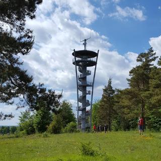 Himmelsleiter über Pottenstein