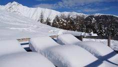 Malga Moser- solarium naturali inverno