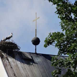 Kirchturm in Stegen