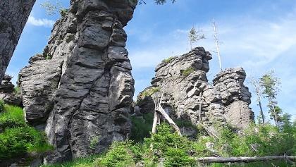 Ödriegel-Gipfelfelsen