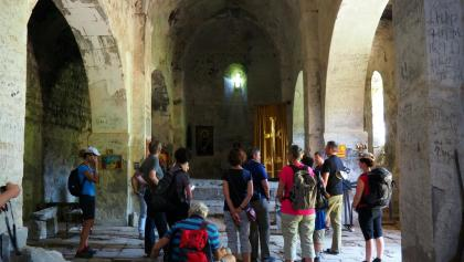 Kapelle um 1265m