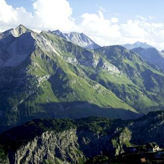 Bergpanorama um die Mindelheimer Hütte