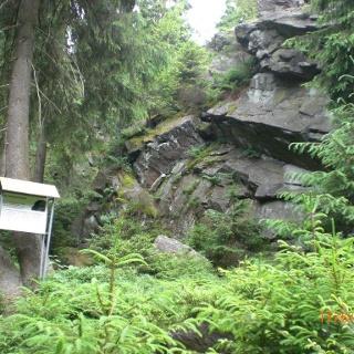 Rehübel bei Grünbach Vogtland