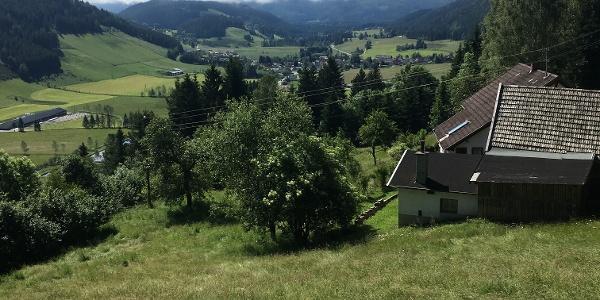 Blick über Glödnitz
