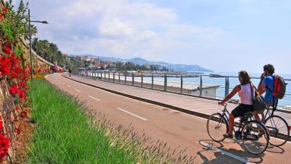 Pista Ciclabile Ponente Ligure - Italien