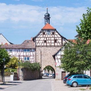 Stadttor in Heldburg