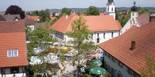 Marktplatz Bad Grönenbach