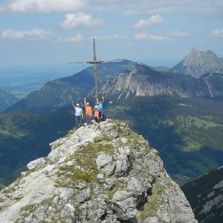 Gipfel des Ponten.