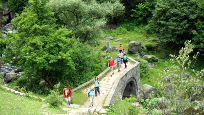 Brücke ~795m nach Steilabstieg
