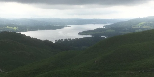 Windermere from Ivy Cragg