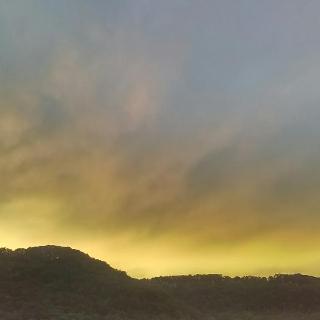 Sonnenuntergang Bad Überkingen