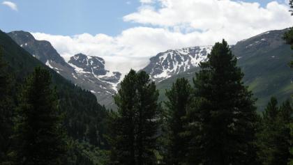 Blick Richtung Kaunertaler Gletscher