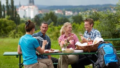 Weingenuss entlang des Sächsischen Weinwanderweges