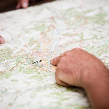 Planung einer Tour durch das Saaleland