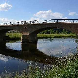 Elsterbrücke bei Crossen