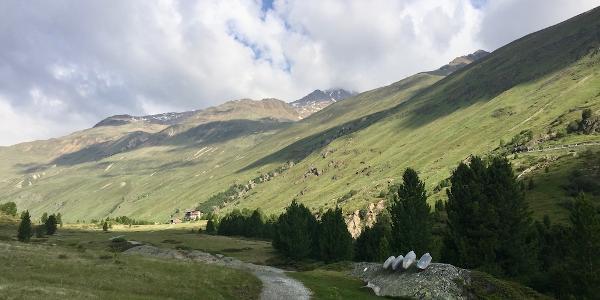 Weg zu den Rofenhöfen