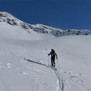 Tella Peak ski tour