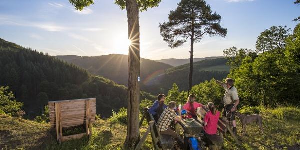 Blick von der Bleiberg-Hütte