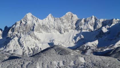 Winterpanorama in Schladming Dachstein