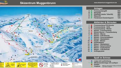 Pistenplan Muggenbrunn