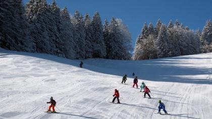Skifahren am Kolbensattel