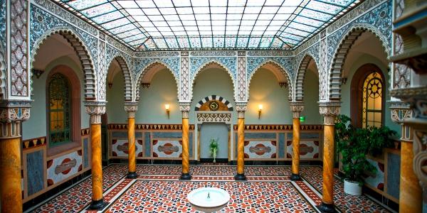 Innenbereich im Palais Thermal in Bad Wildbad