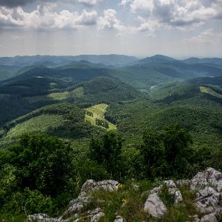 Pohľad z vrchu Tar-kő