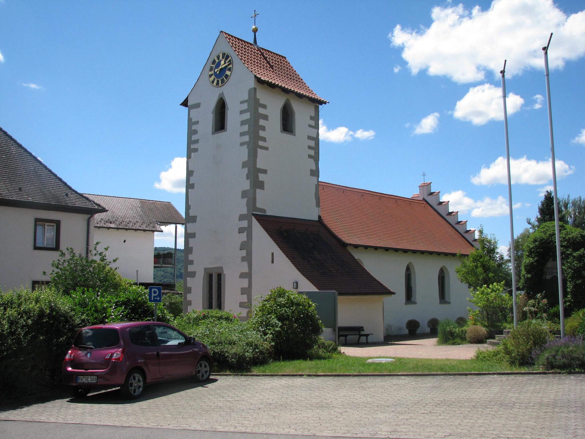 Kirche in Hemmenhofen