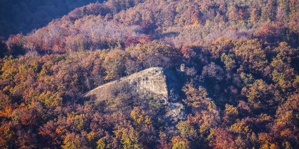 A Rám-szikla a Dobogó-kőről