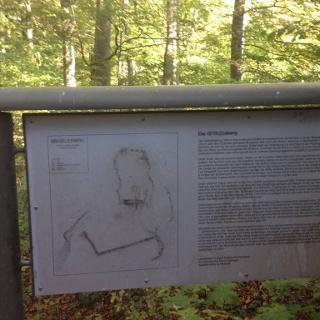 Schild am Gräbelesberg
