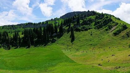 Nagelfluhkette bei der Alpe Gund