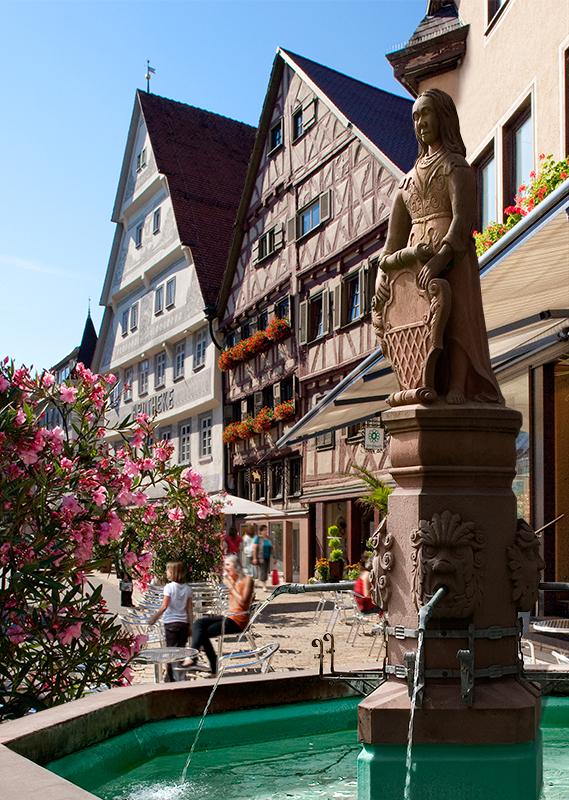 Heidelberg-Schwarzwald-Bodensee-Radweg - Etappe 3