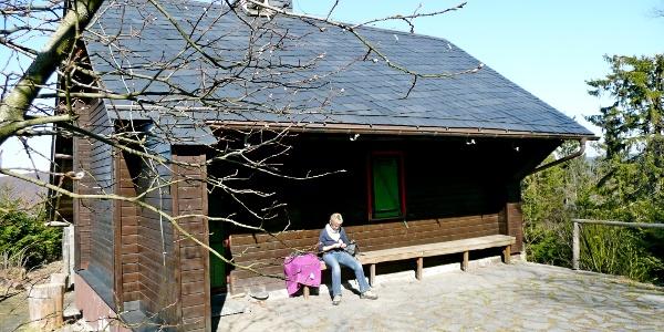 Eine kleine Selbstversorgerhütte bei Willingen im Sauerland