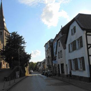 Historische Strasse in Erkrath