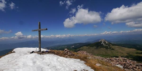 Gipfelkreuz des Schwarzhorns