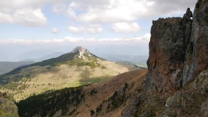 Blick auf das Aldeiner Weißhorn