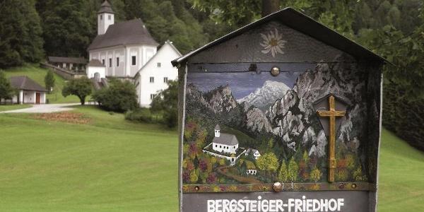 Bergsteigerfriedhof in Johnsbach